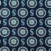 MLB Seattle Mariners Cotton Fabric